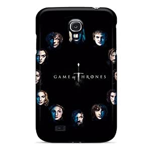 For Galaxy S4 Tpu Phone Case Cover(game Of Thrones Faces)