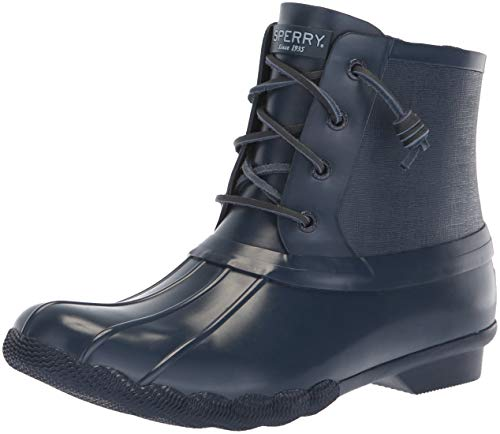 Sperry Top-Sider Women's Saltwater Rubber Flooded Rain Boot Navy