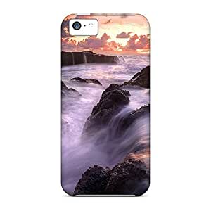 Iphone 5c Cases Covers Skin : Premium High Quality Rocky Currents Cases