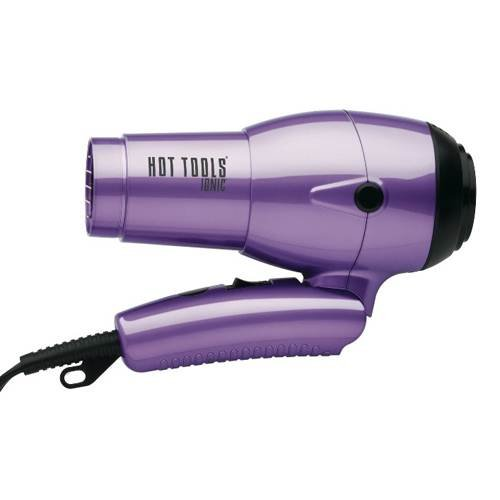 Hot Tools Ionic Travel Dryer with Folding Handle and Dual Voltage 1875 Watts Model No. HT1044 by HOT TOOLS