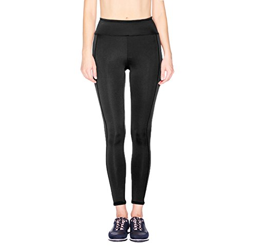 Regna X Women's Stretchy Workout Leggings//Solid & Print & Mesh Styles