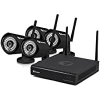 Swann CONVW-EZ4VIEW4 4 Channel 1080p Wireless Security kit 4 x 1080p Cameras