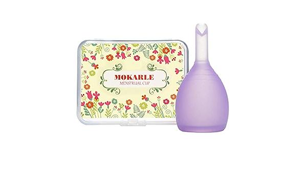 Reutilizable Copa Menstrual suave silicona médica Señora ...
