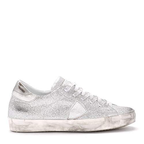 Argento Glitter Philippe Model Sneaker In Paris xqYFaXY