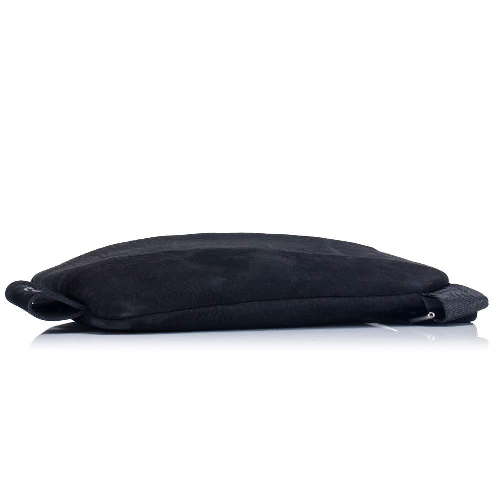 44c32a7376 Color : Black, Size : M Sac à bandoulière en Cuir pour Homme Sac à  bandoulière en Cuir ...
