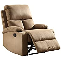 ACME Furniture 59554 Rosia Recliner, One Size, Beige