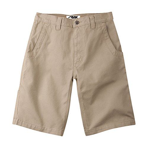 Mountain Khakis Men's Organic Alpine Utility Short Relaxed Fit, Freestone, 38W 9In