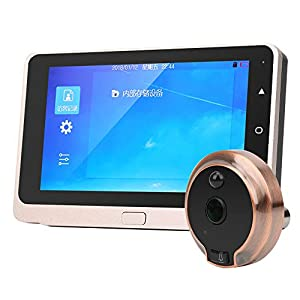 """5"""" inch OLED Screen Video Doorbell with Camera Digital Door Peephole Viewer Electronic Visual Cat's Eye with IR Night…"""