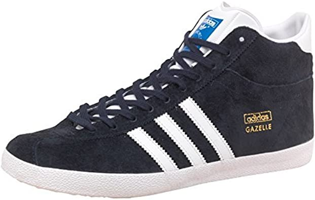 Alinear homosexual Deportes  adidas Gazelle OG Mid EF Shoes Trainers Trainers Blue Suede: Amazon.co.uk:  Shoes & Bags
