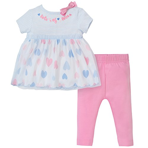 Baby Flamingo (Gerber Baby Girls Tunic and Legging Set, hearts, 3-6 Months)