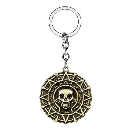Piratas De Los Llaveros del Caribe Jack Sparrow Azteca ...