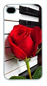 High Quality Fashion White PC For Samsung Galaxy S3 I9300 Case Cover Generation Back Cover For Samsung Galaxy S3 I9300 Case Cover with Red Rose On Piano Keys
