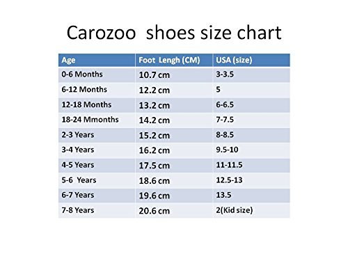Image of Carozoo Baby Boy Shoes Up To 7-8years Soft Sole Leather Kids Shoes