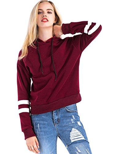 St Jubileens Women Hoodie Sweatshirt Long Sleeve Simple Style Casual Pullove...