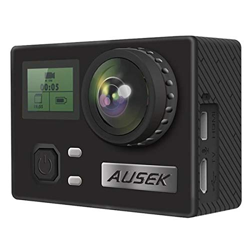ausek mp4,h.264 Ultra-Thin 4k Sports Camera Waterproof WiFi Aerial dv Gyroscope Anti-Shake Mini Camera dv Video Recorder