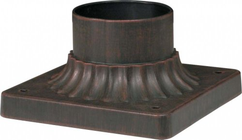 Nuvo Lighting 25-1204 Pier Mount in Old Penny Bronze Finish, Old Penny Bronze