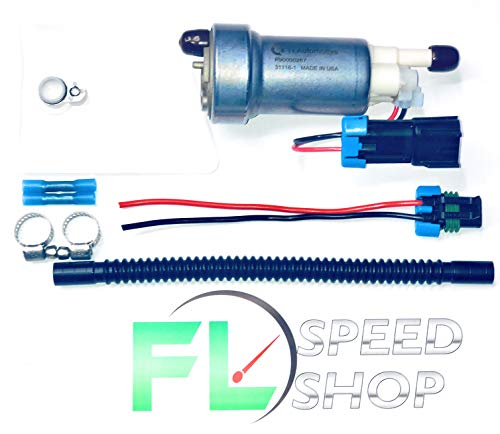 Walbro 450 LPH With UPGRADED Install Kit E85 Universal Fuel Pump F90000267 450lph