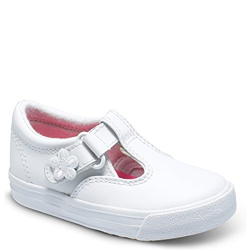 Keds Daphne Fashion T-Strap (Toddler/Little Kid), White...