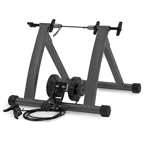 Indoor Exercise Bike Bicycle Trainer Stand W/ 5 Levels Resistance Stationary by BEC