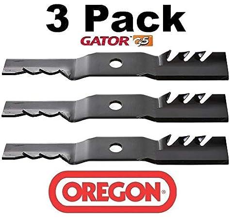 """Oregon 96-351 19/"""" G3 Gator Mulching Blade Cub Cadet//MTD 54/"""" Cut 942-04416 3-PACK"""