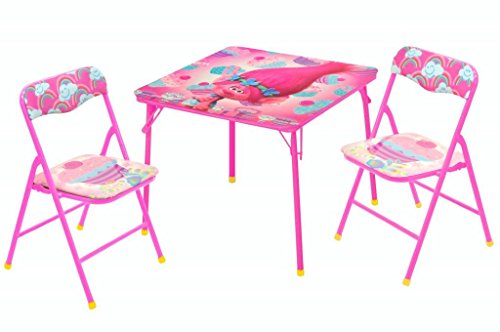 Universal DreamWorks Trolls Table and Chair Set (3 Piece) (Chiara Chair)