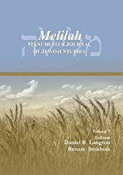 Melilah: Manchester Journal of Jewish Studies, 2010