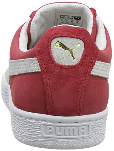 Niedrige Herren Classic Puma Red Regal Hausschuhe white Suede Team qStWz4U
