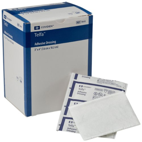 Covidien Telfa Ouchless Adhesive Dressing, Sterile 1's in...
