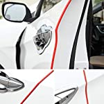 Car Door Edge Protector 16Ft(5M) Car Edge Trim Rubber Seal Protector with U Shape Car Protection Door Edge Guard Fit for…