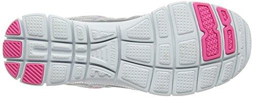 Skechers Sport Femmes Flex Appel Chiné 12065 Mode Sneaker Gris Clair / Rose
