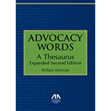 Advocacy Words: A Thesaurus, Expanded