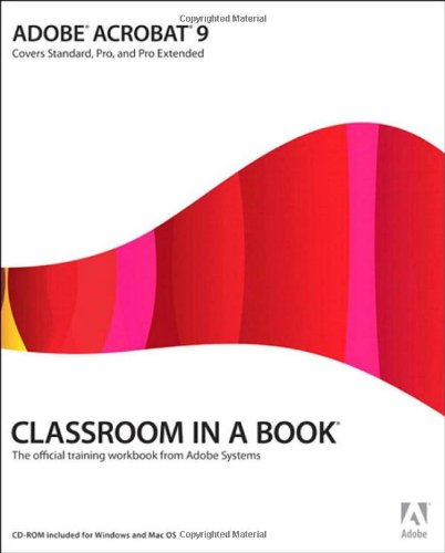 [PDF] Adobe Acrobat 9 Classroom in a Book Free Download | Publisher : Adobe Press | Category : Computers & Internet | ISBN 10 : 0321552970 | ISBN 13 : 9780321552976