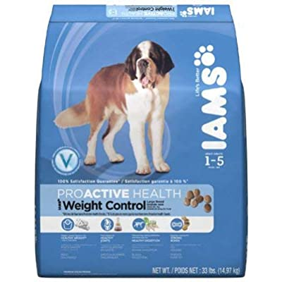 Iams 70069 30.2 lbs. Large Breed Weight Control Dry Dog Food