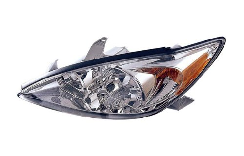 Toyota Camry (LE, XLE) Replacement Headlight Assembly (Chrome) - 1-Pair (Headlight Replacement Toyota Camry)