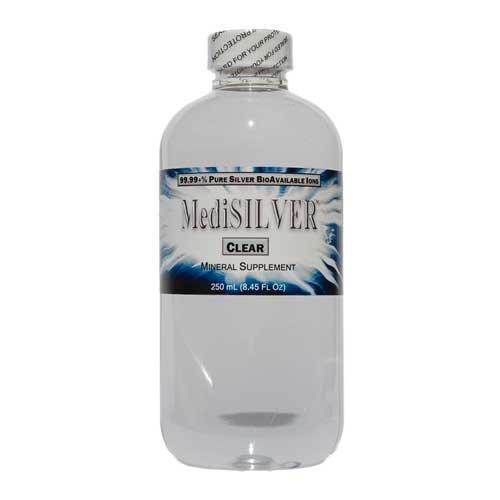 (MediSILVER - 20 ppm Bioavailable Colloidal Silver - 250 mL)