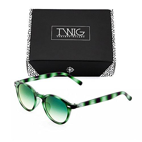 redondo Tortuga SOUTINE TWIG Verde Gafas mujer espejo de sol WqSW1IU
