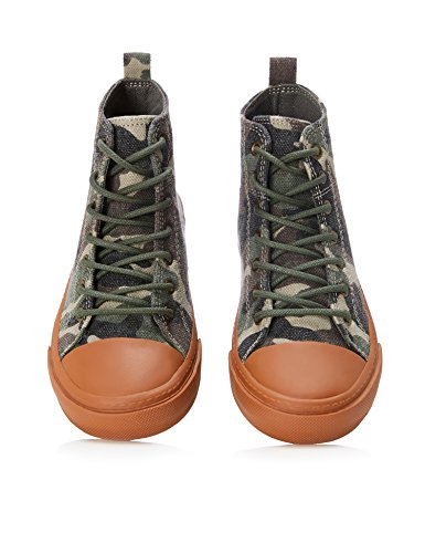 RED WAGON Jungen Hohe Sneaker Mehrfarbig (CAMO)
