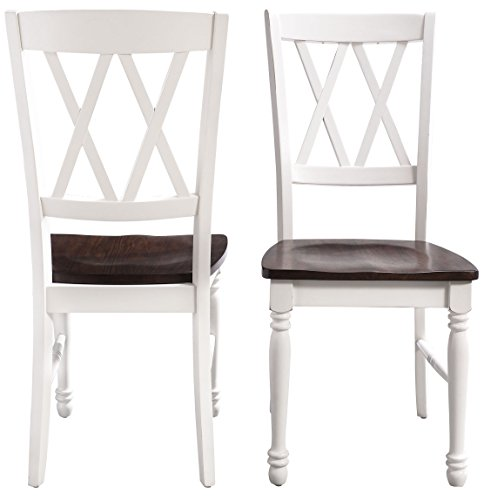 Crosley Furniture CF501018-WH Shelby Dining Chairs (Set of 2), White by Crosley Furniture (Image #6)