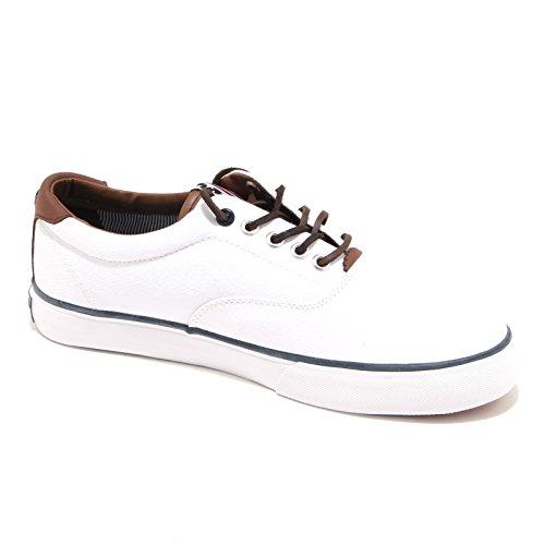 Polo Ralph Lauren - Zapatillas de Lona para hombre Blanco blanco 43