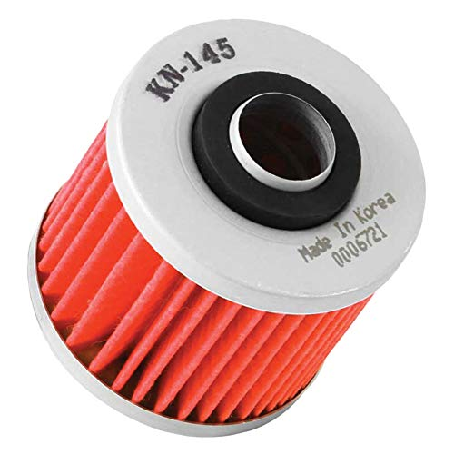 K&N Oil Filter - Fits: Yamaha V-Star 650 Custom 1998-2011