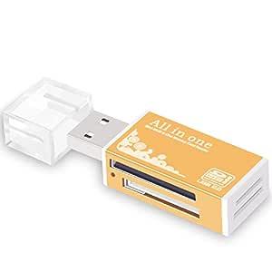 Lector Tarjetas Micro SD SD USB 2.0 para MicroSD,SD,Mini SDHC,TF ...