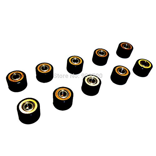FINCOS 1/2/3/4/5/6/10pcs Pinch Roller for Roland Vinyl Plotter Cutter 4x10x14mm Paper Pressing Wheel Engraving Machine Printer Parts - (Color: 10pcs) by FINCOS (Image #1)