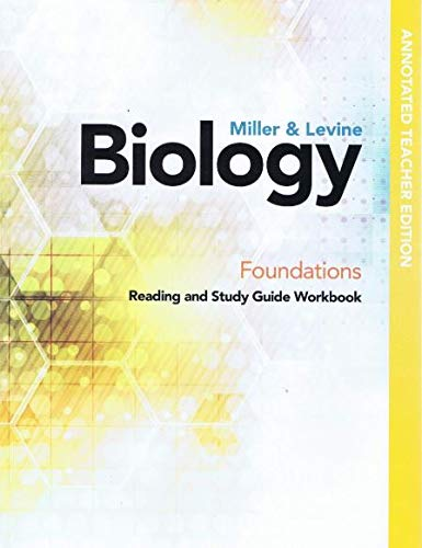 Biology 2019 Foundations Reading and Study Guide Workbook Teacher Edition (Best Selling Foundation 2019)