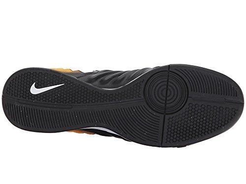 Nike Manchester United Sideline Woven - Pantalones cortos BLACK/WHITE-LASER ORANGE-V