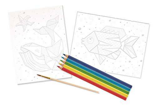 Faber-Castell Children's Do Watercolor Art Resist Kit