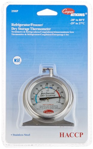 Storage Thermometer - Cooper-Atkins 25HP-01-1 Refrigerator, Freezer, Dry Storage Thermometer