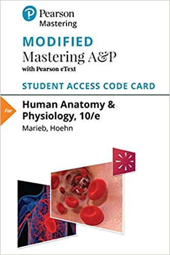 Buy Human Anatomy & Physiology Modified Mastering A&P with Pearson ...