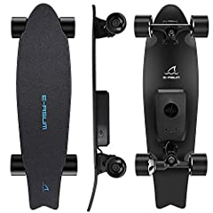 E-ASUM AS01 Electric Skateboards                              Quadruple Damping System:                     80A linear enhanced PU, tires, 7-layer Canadian maple planks, front and rear cushions quadruple damping system. wider ...