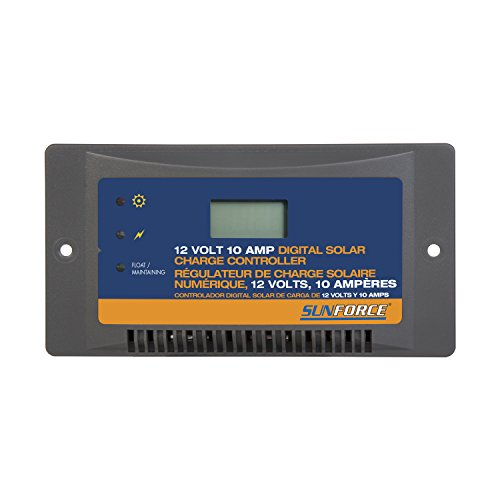 Sunforce 60031 10 Amp Digital Charge Controller
