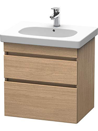 Duravit DS648305252 - DS Vanity unit #034265 Eur Oak, 610x600x453mm wall-mounted,